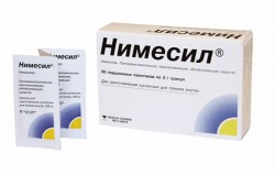 Нимесил, гран. д/сусп. д/приема внутрь 100 мг 2 г №30