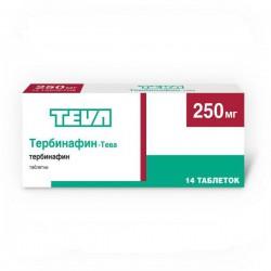 Тербинафин-Тева, табл. 250 мг №14